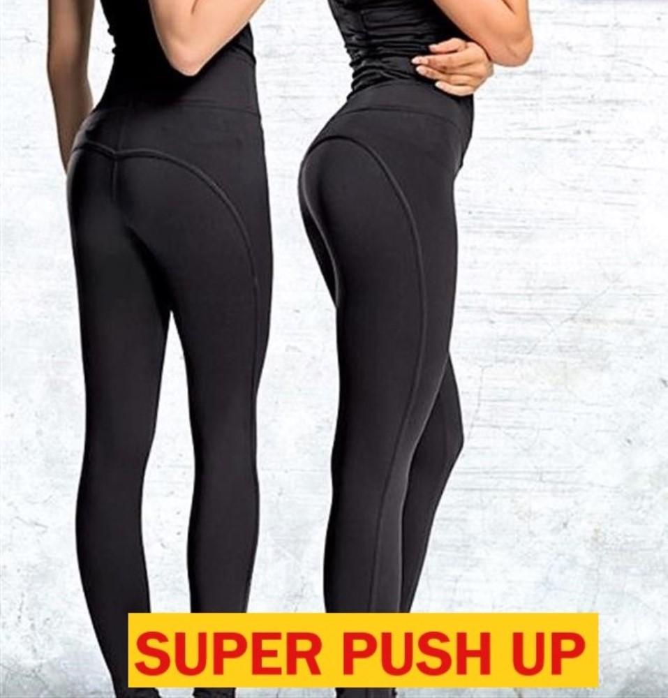 4ddb251246c9 Αθλητικό παντελονοκολάν SUPER PUSH UP-Ψηλόμεσο