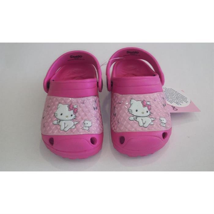 Παιδικό σαμπό κορίτσι τύπου crocks-ADAMS(kitty) Νο23-29